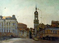 The Pyatnitskaya street. The prospect from Balchug