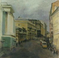 The Pushkinskaya street