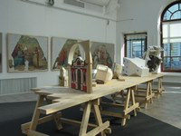 The exhibition «Restoring the Church of Russia». Moscow House of Artists, Kuznetsk bridge